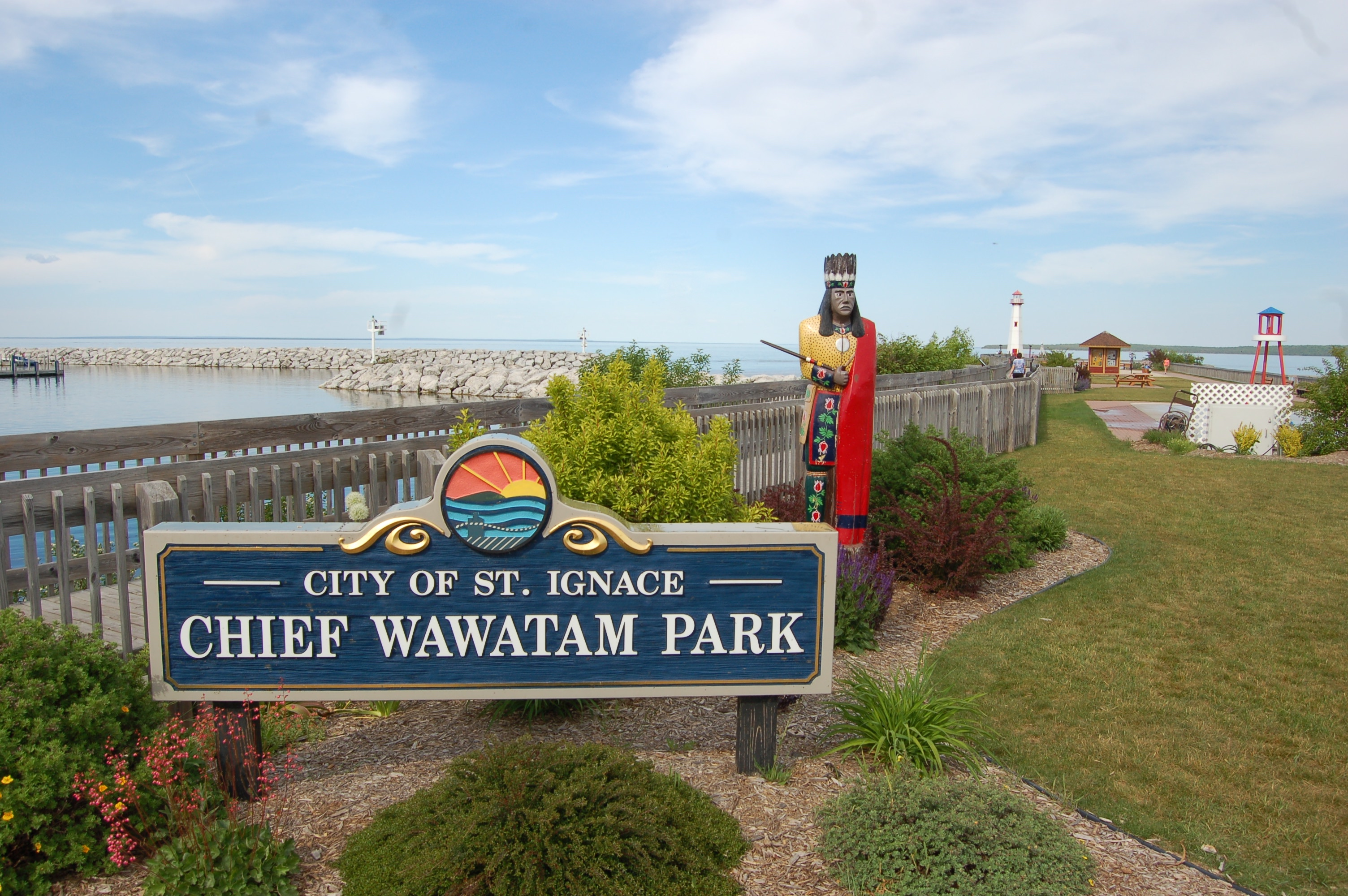 Chief Wawatam Park St. Ignace