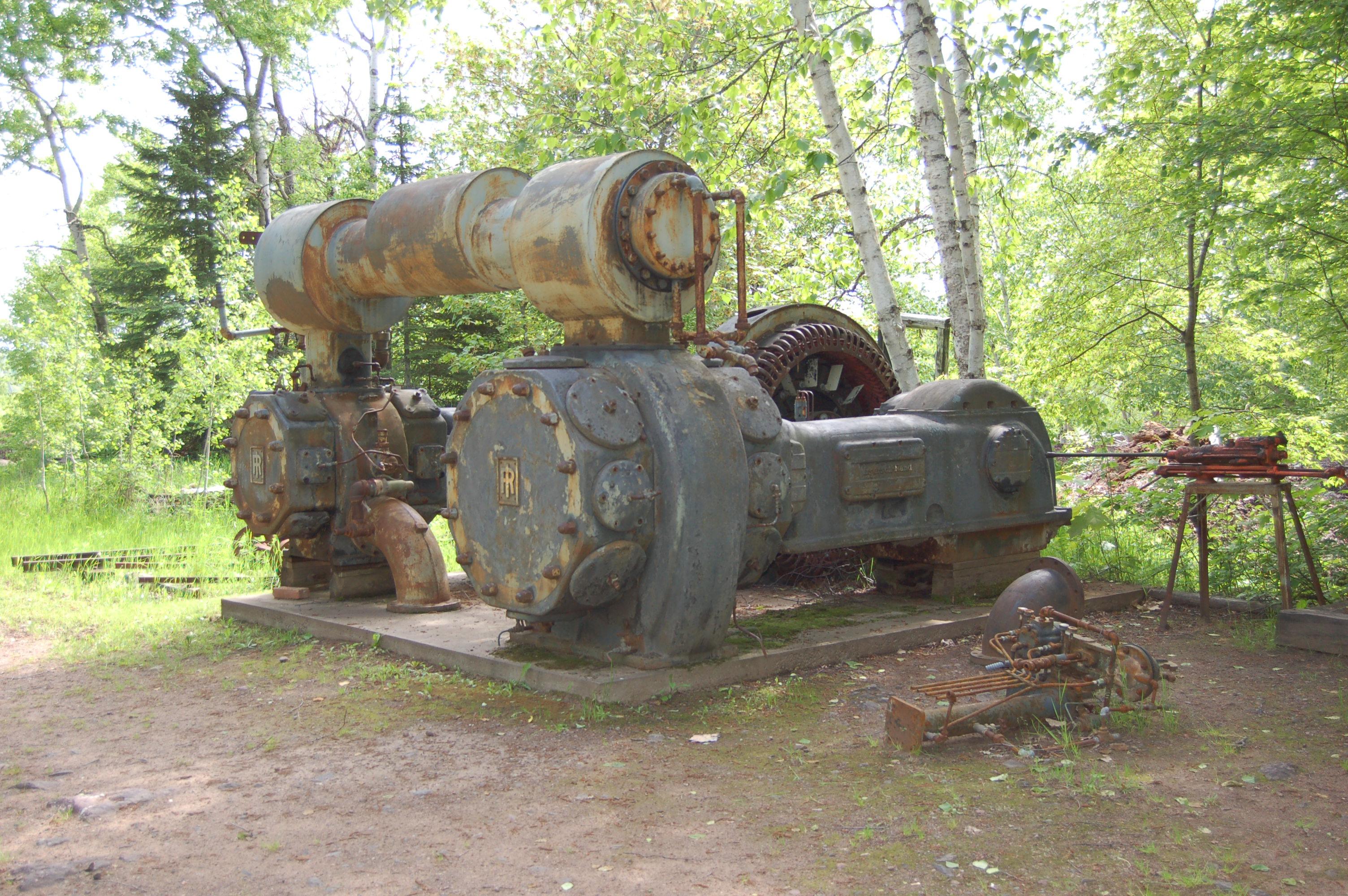Delaware Mine Antique Equipment
