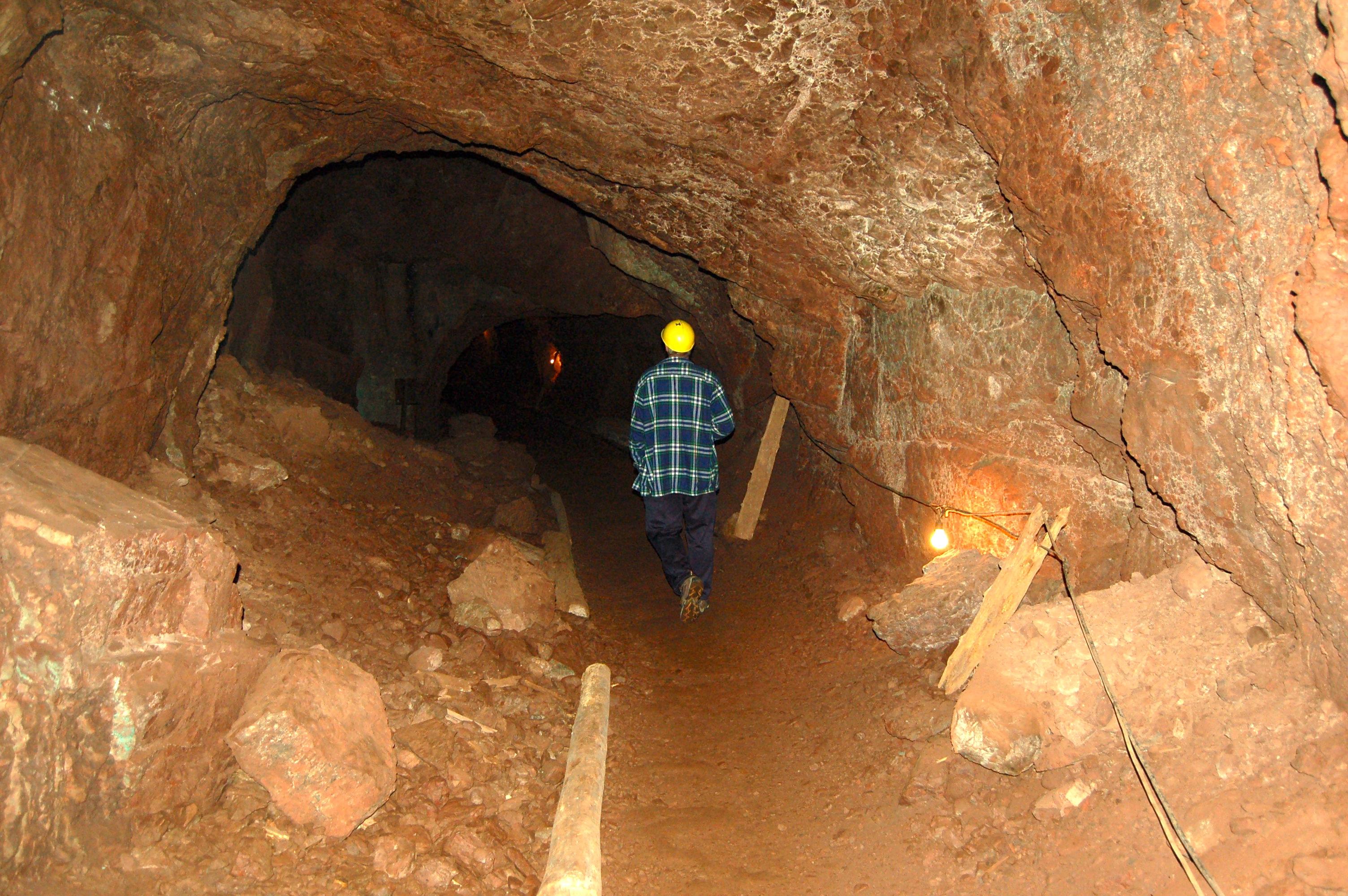 Delaware Mine Hard Hat Tours