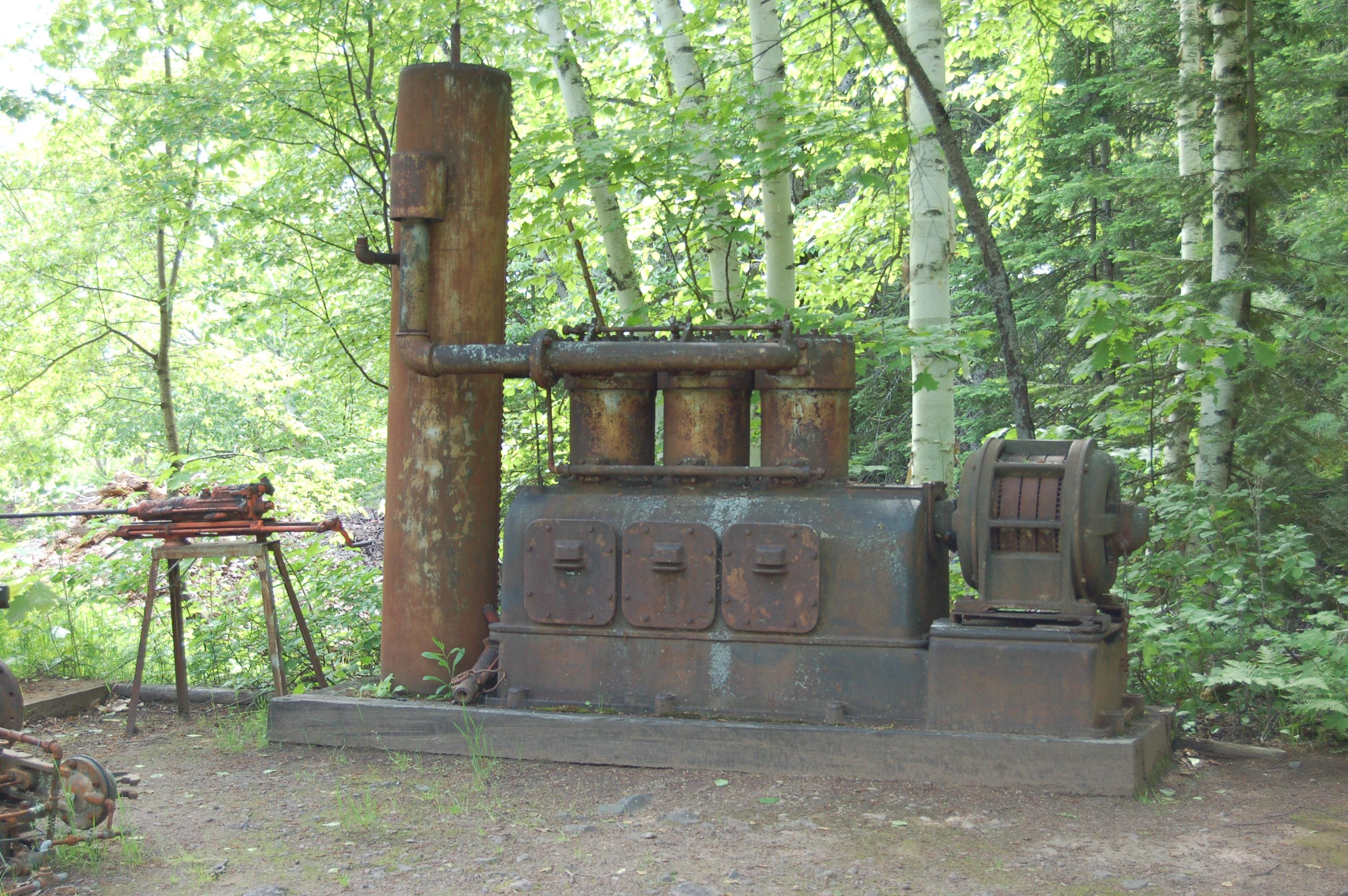 Delaware Mine Michigan Antiques