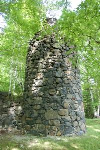 Delaware Mine Ruins Vertical
