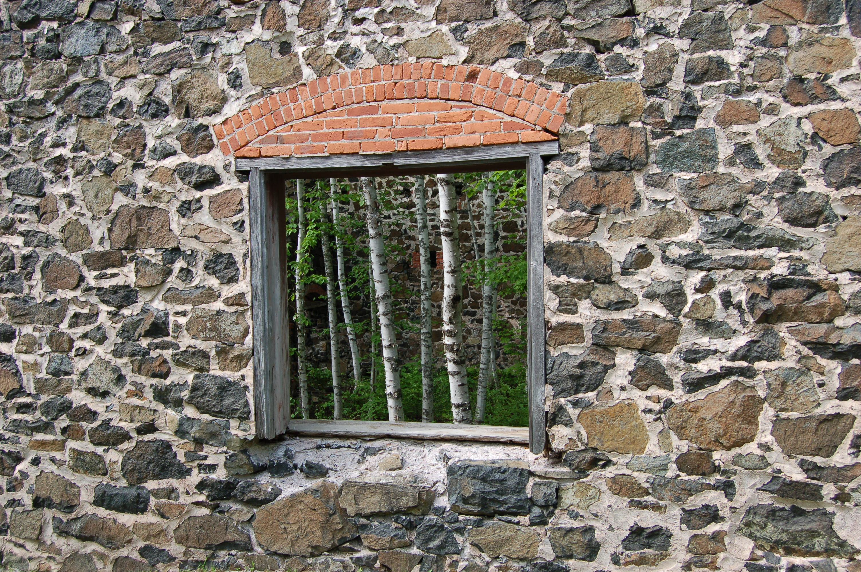 Delaware Mine Ruins Window
