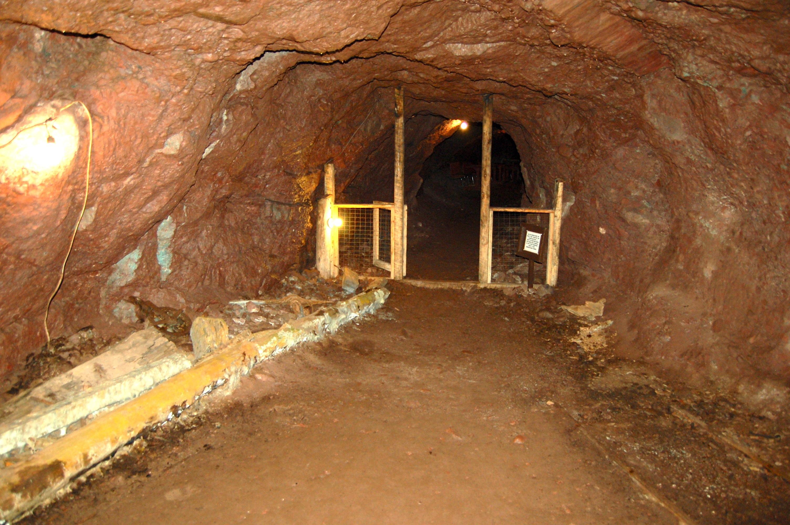 Delaware Mine Shaft Underground