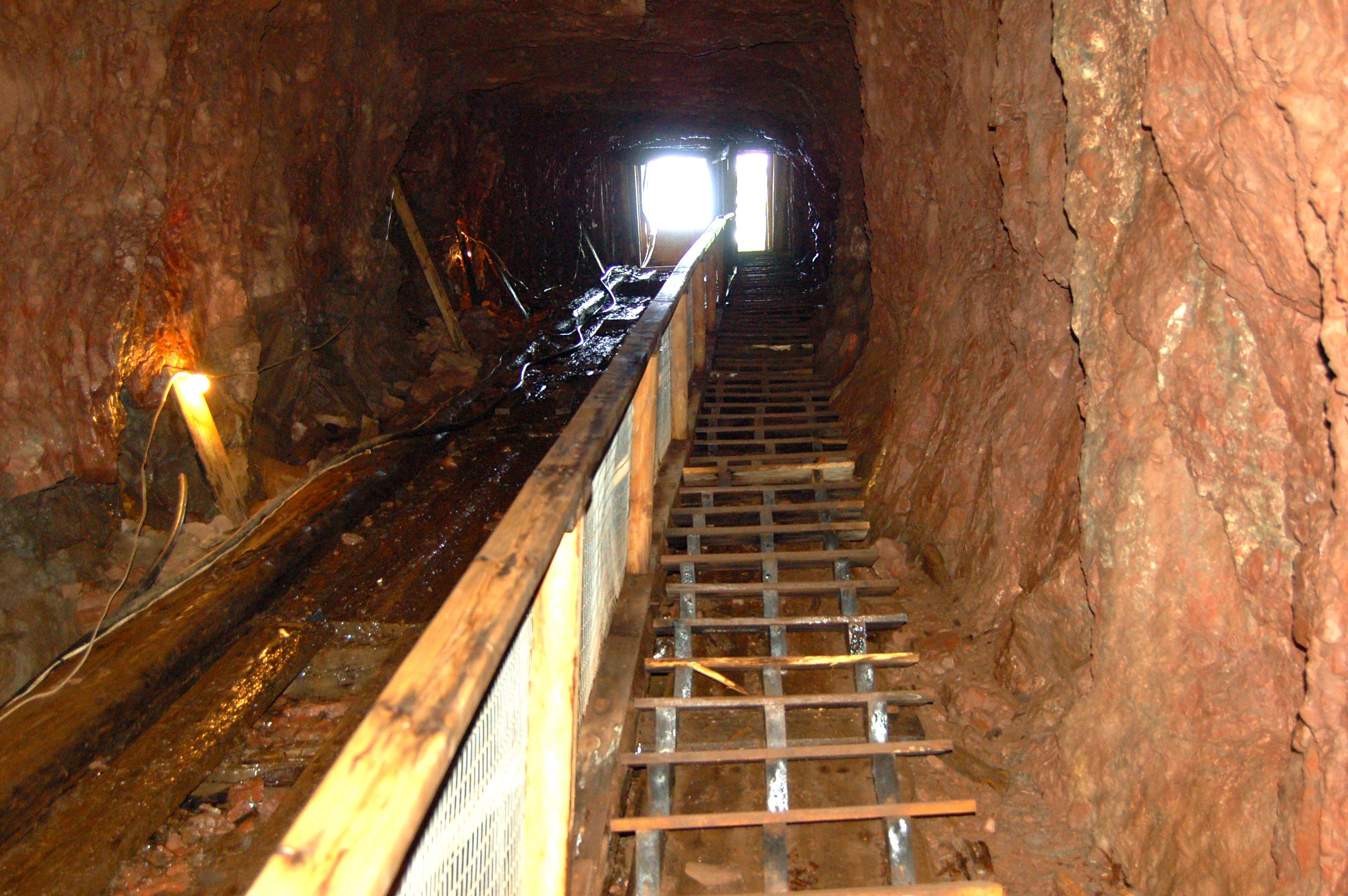 Delaware Mine Stairway MI