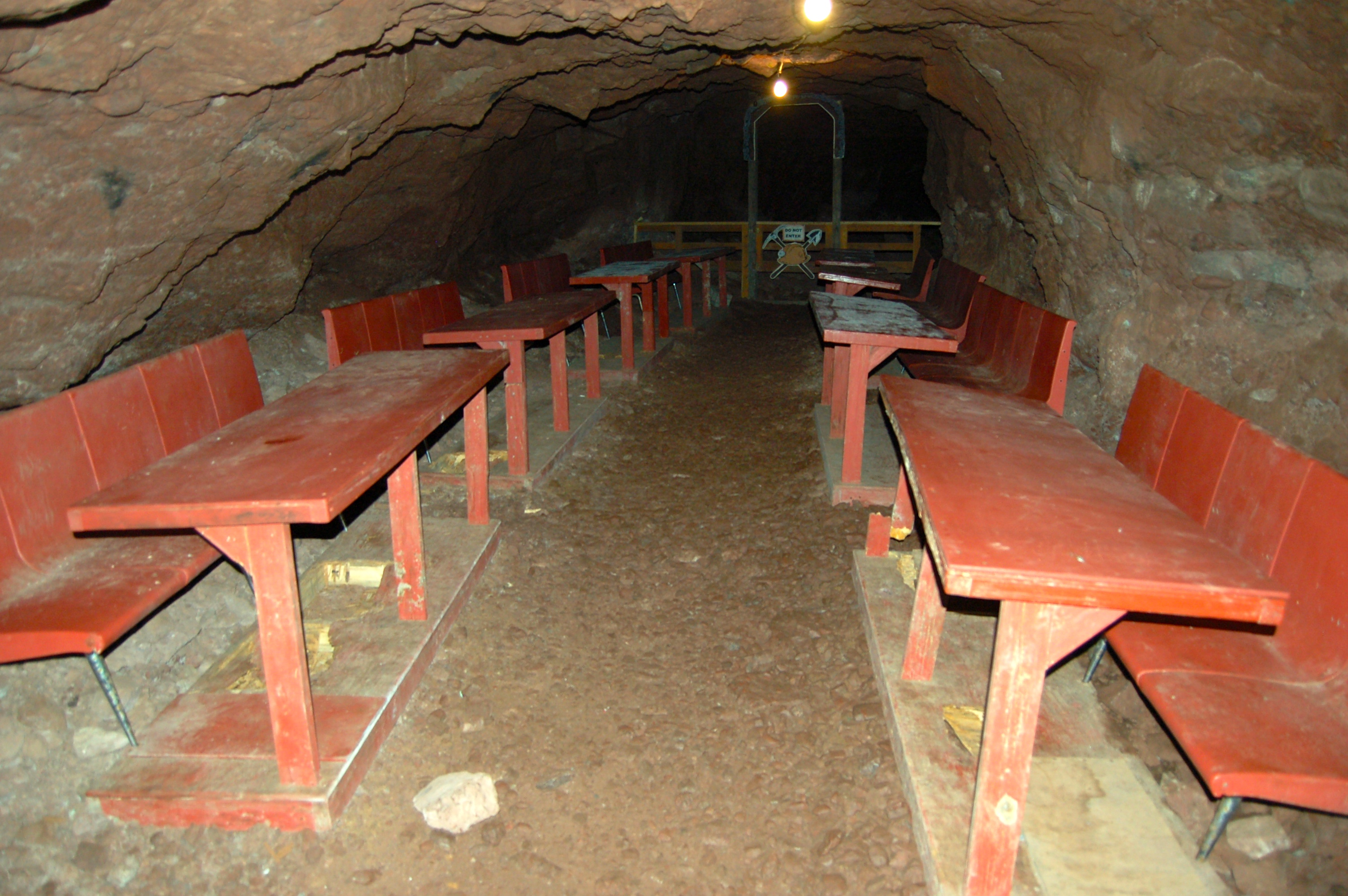Delaware Mine Underground Picnic