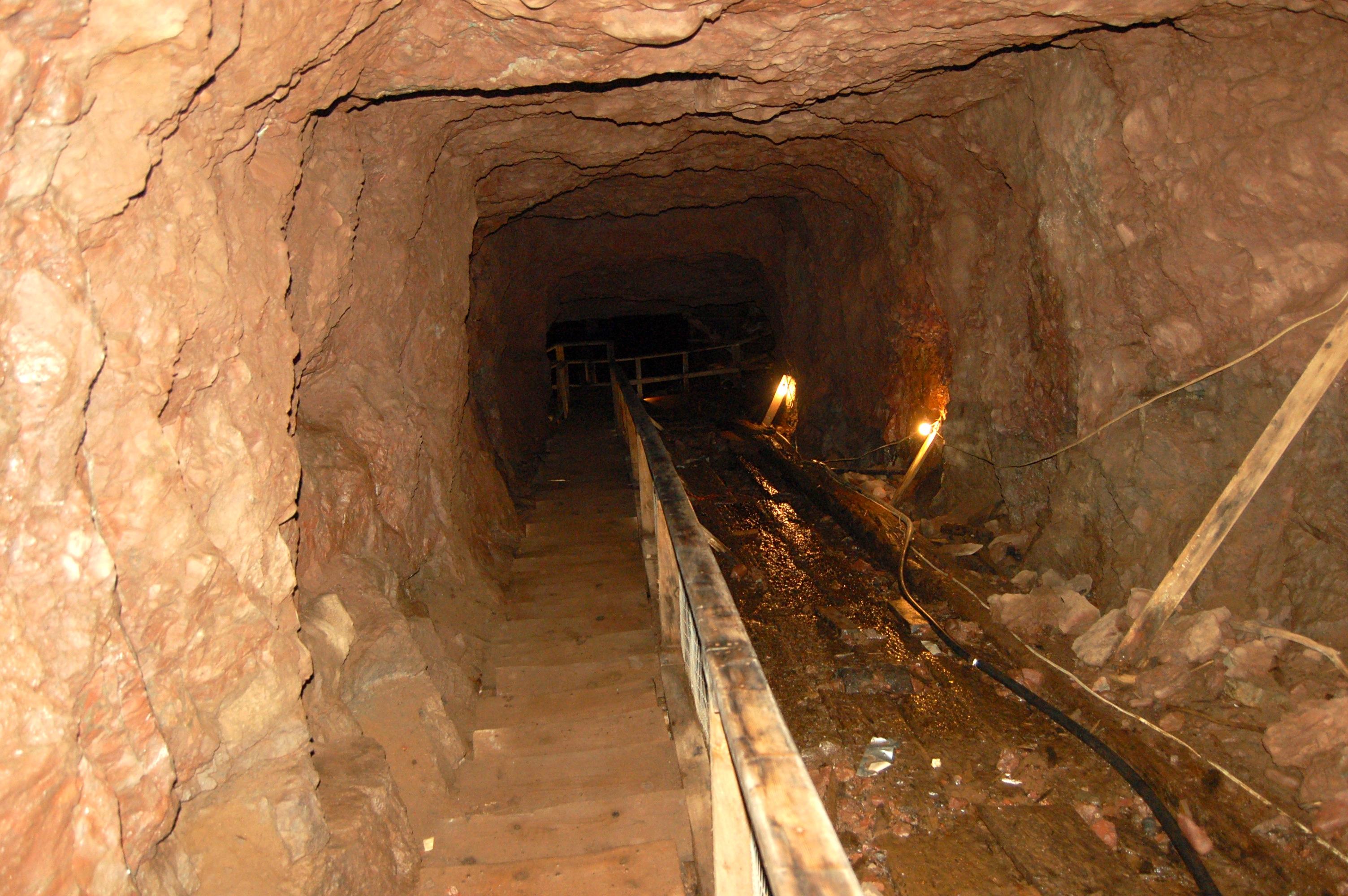 Delaware Mine Underground