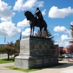 Michigan Roadside Attractions: George Custer Statue in Monroe