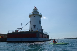 Harbor Beach Lighthouse Kayak