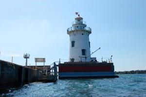 Harbor Beach Lighthouse Lake Huron MI Light