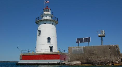 Harbor Beach Lighthouse, Lake Huron