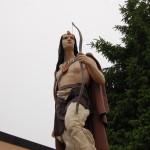 Michigan Roadside Attractions: Old Ish Statue, Ishpeming