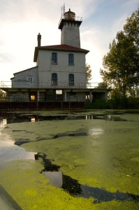 Michigan Lighthouse Saginaw River Vertical