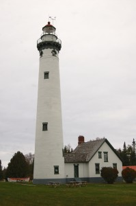 New Presque Isle Lighthouse Vertical