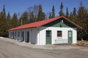 New Presque Isle Museum Garage
