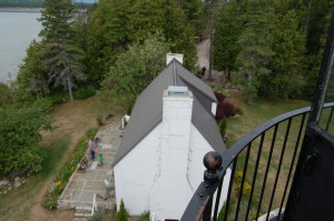 Old Presque Isle Lighthouse Tower View