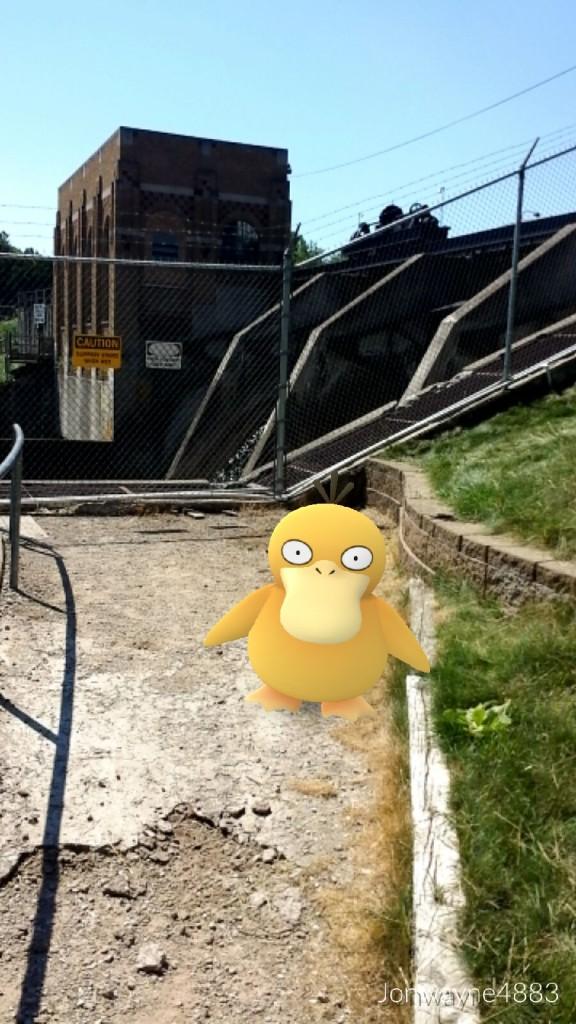 Psyduck Cascade Dam Pokemon Go
