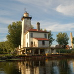 Saginaw River Range Lighthouse, Bay City