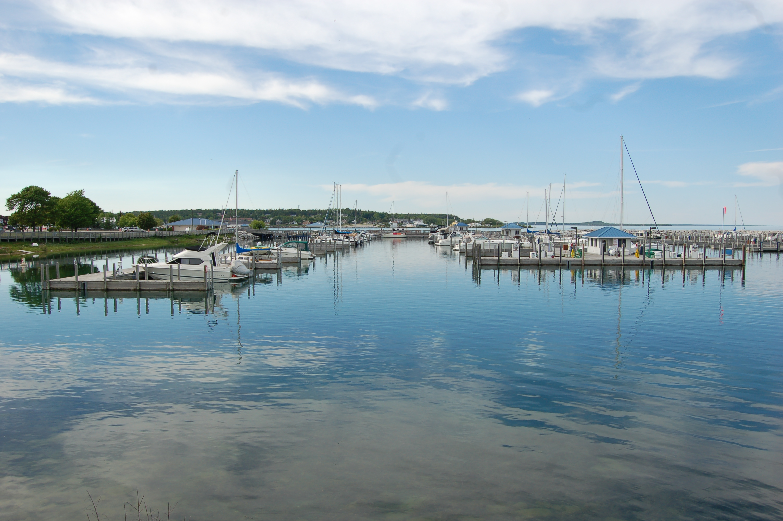 St. Ignace Michigan Marina