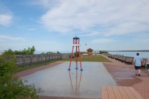 St. Ignace Splash Pad Wawatam Park