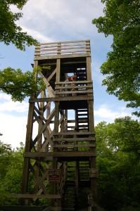 Summit Peak Observation Tower Michigan
