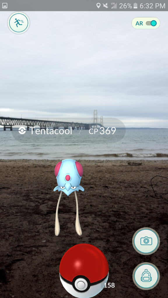 Tentacool Mackinac Bridge