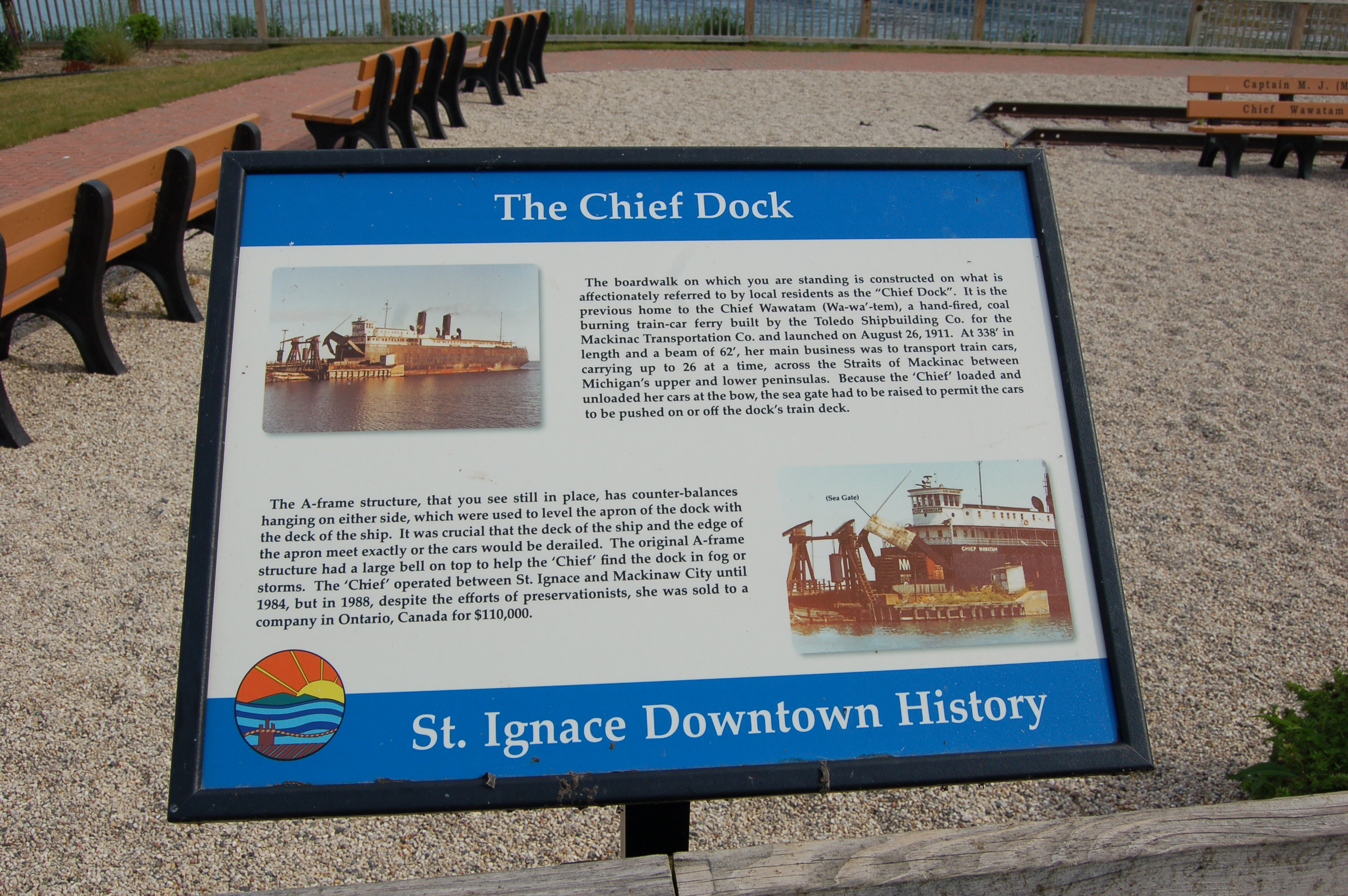 The Chief Dock St. Ignace