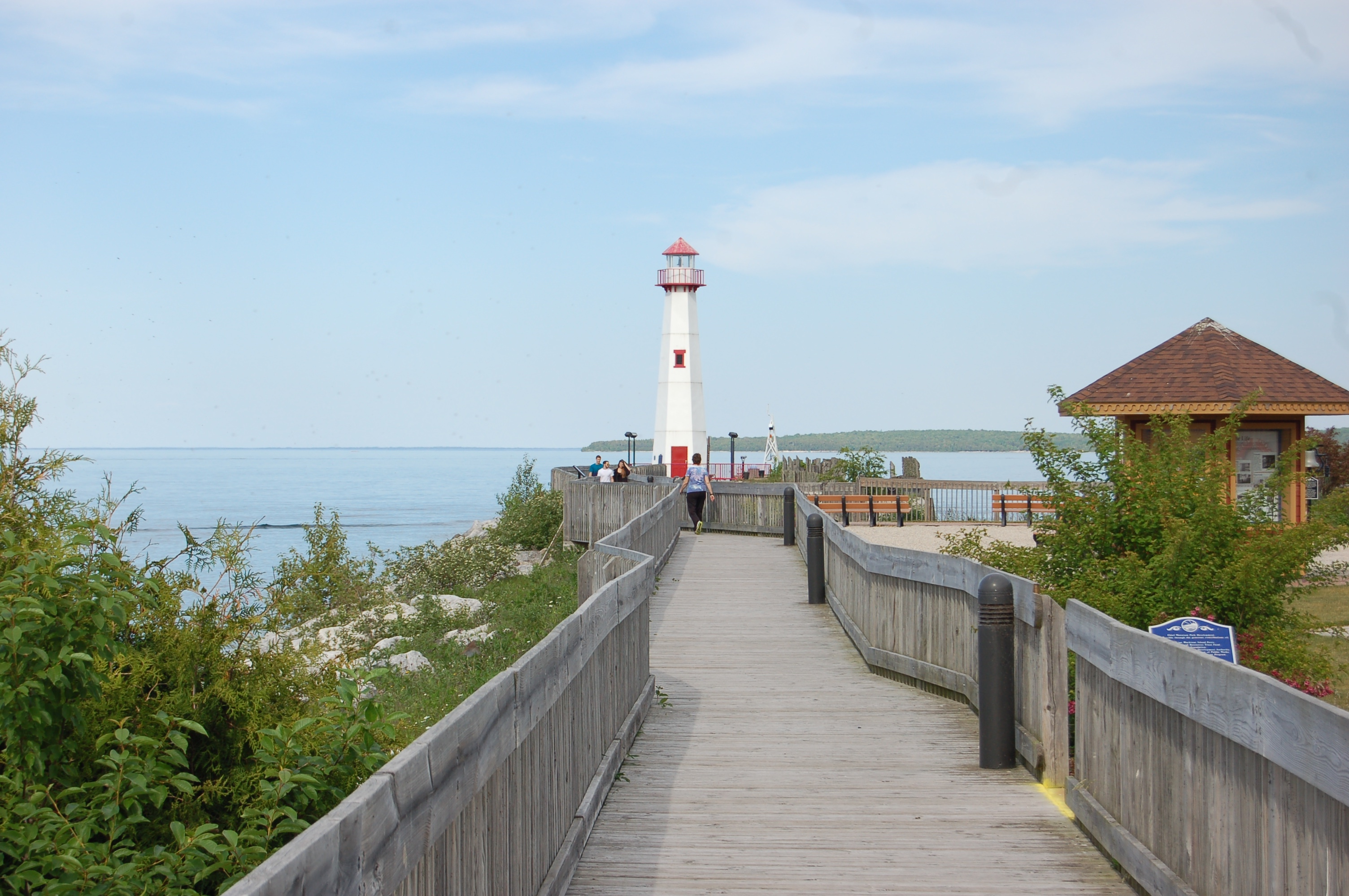 Wawatam Lighthouse Boardwalk
