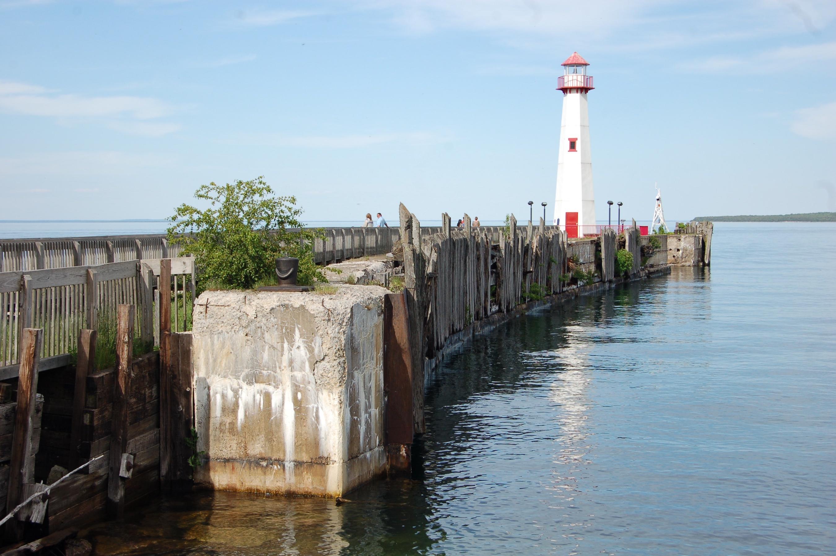 Wawatam Lighthouse Lake Huron