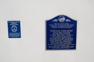 Wawatam Lighthouse Plaques