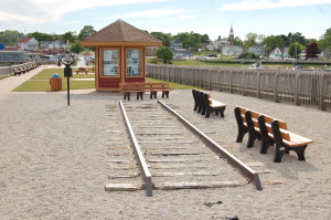 Wawatam Park Train Tracks