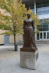 Anna Bissell Statue Vertical