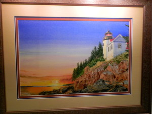 Guiding Lights by Michael Ingle (Artprize 2016) (Bass Harbor Lighthouse)