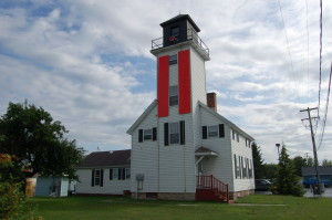 Cheboygan River Range Lighthouse Michigan