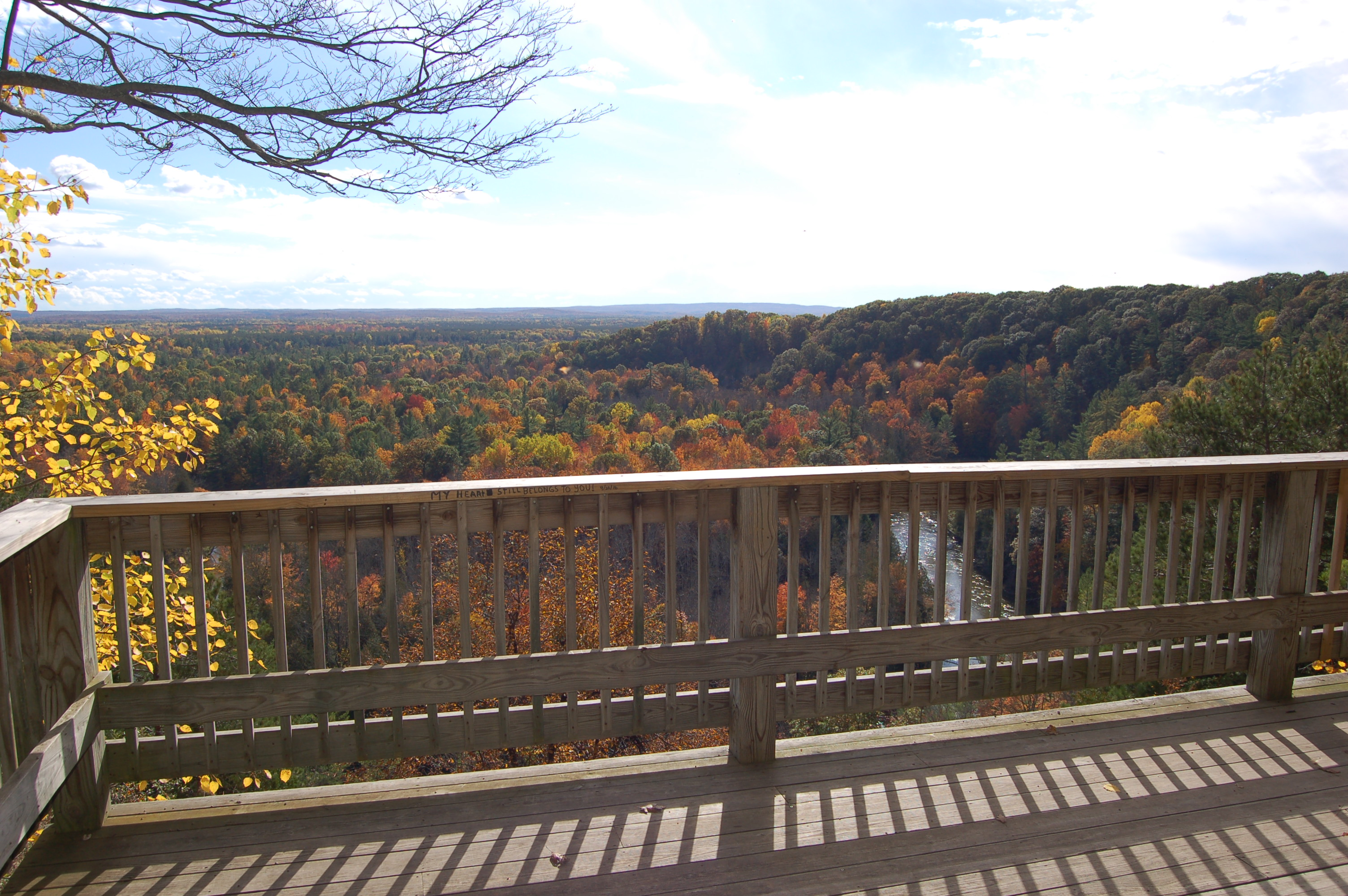 High Rollway Overlook Michigan Manistee River
