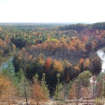 Manistee River High Rollway – Stunning Fall Views in Northern Michigan