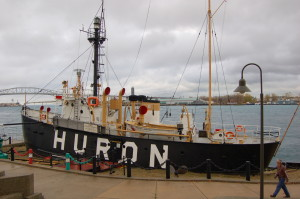 Huron Lightship Michigan Museum