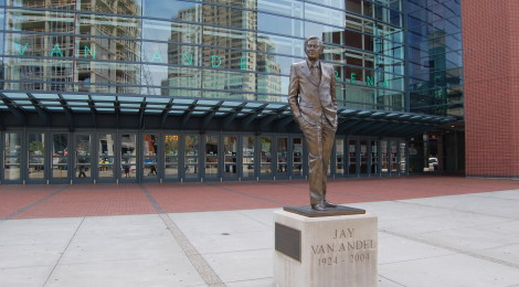 Grand Rapids Community Legends Project Sculptures: A Downtown Walking Tour