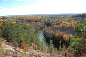 Manistee River Fall Color Buckley MI