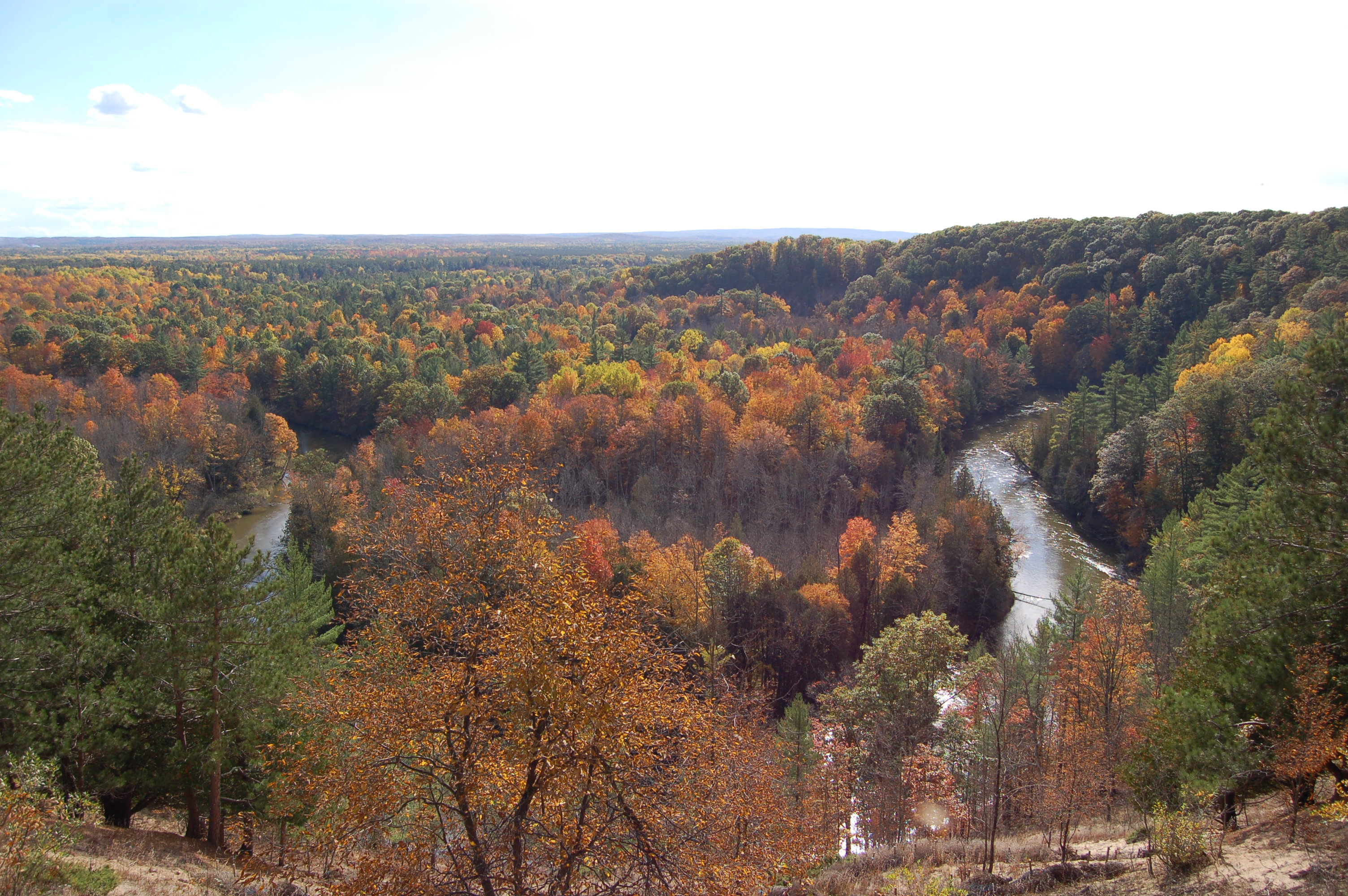 Manistee River Horseshoe Bend Michigan