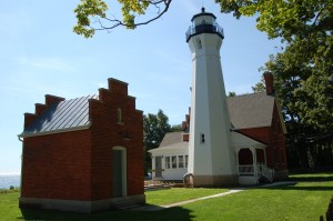 Port Sanilac Lighthouse Michigan