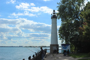 Windmill Point Light Detroit michigan