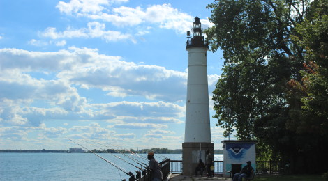 Windmill Point Light, Detroit
