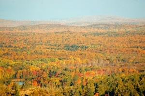 2016 Fall Color Sugarloaf Mountain Marquette Fall