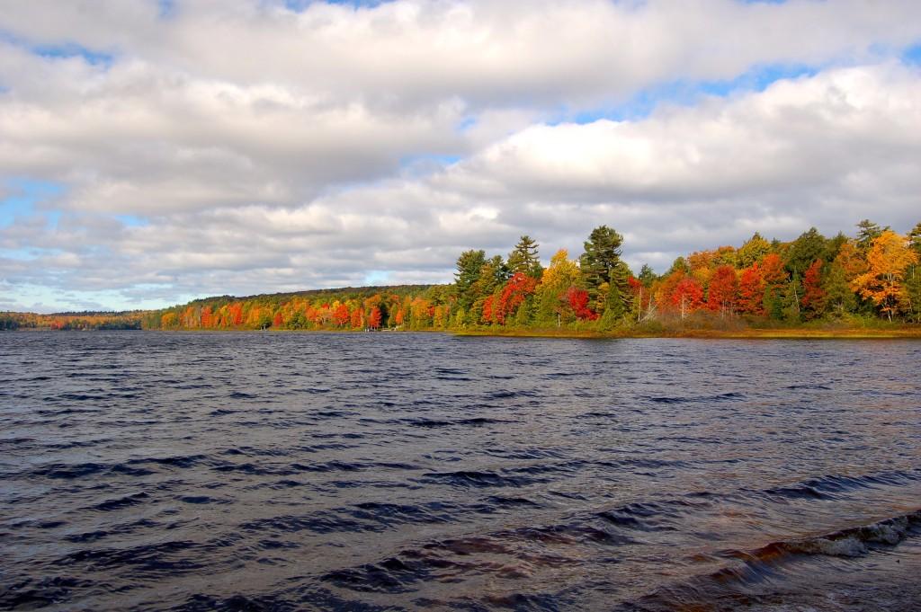 2016 Fall Color Deer Lake Michigan