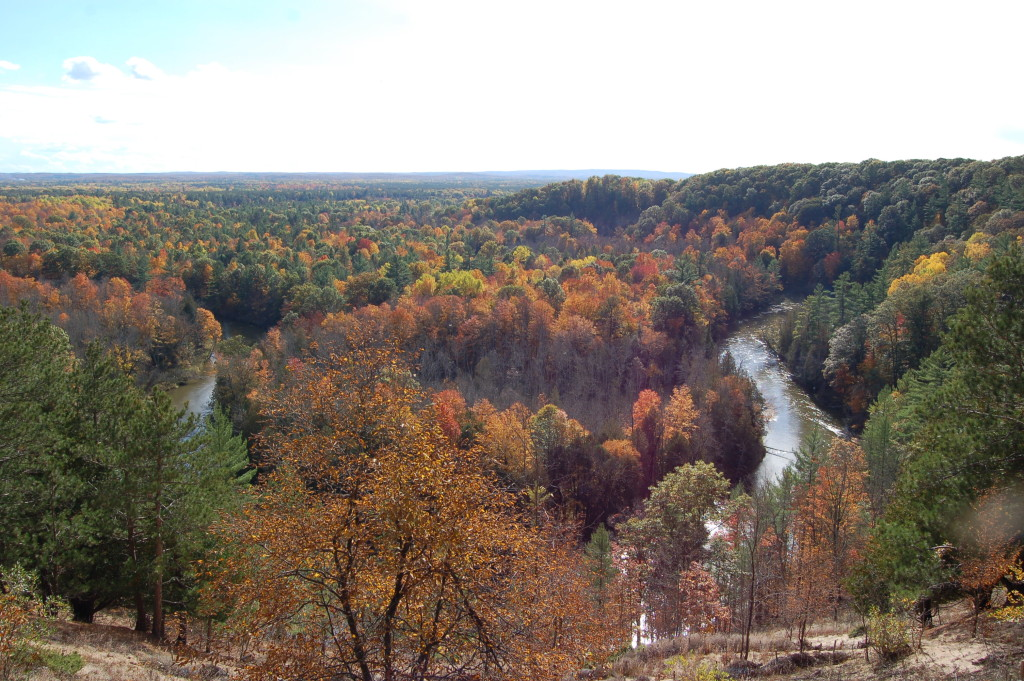 Fall Color Manistee High Rollway