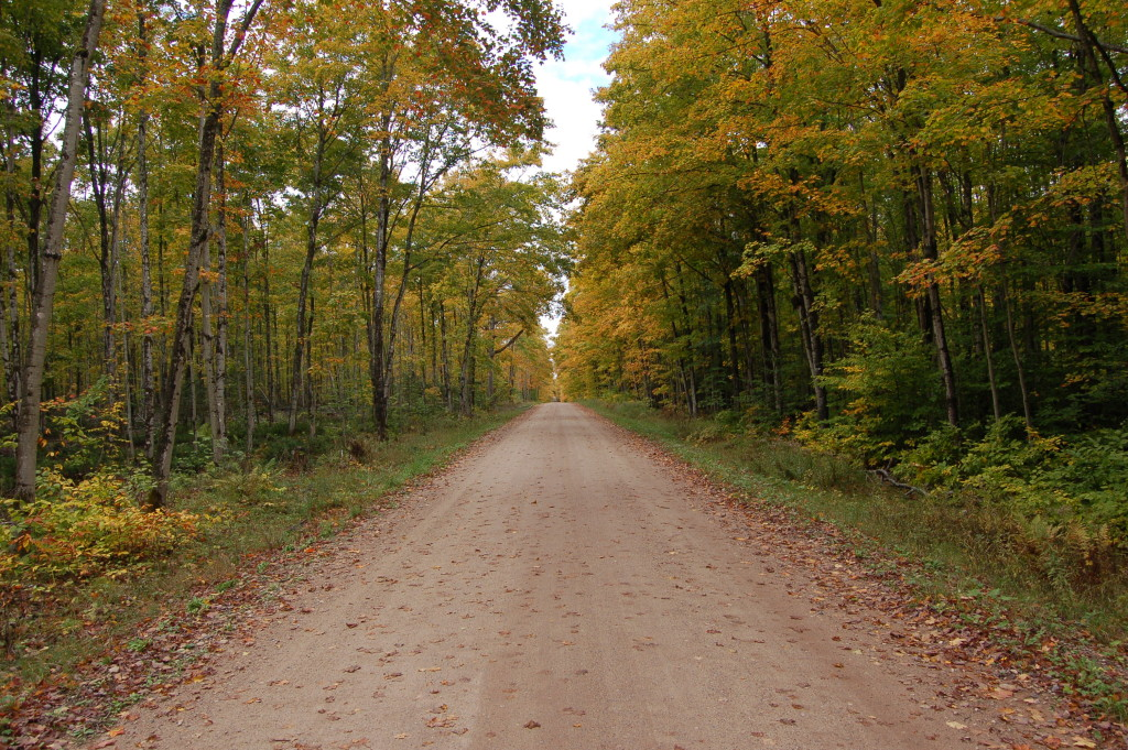 Fall Color Pictured Rocks Back Roads