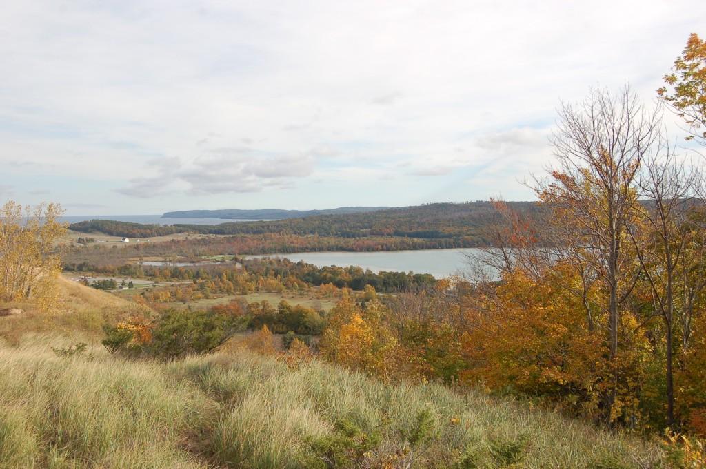 Fall Color Sleeping Bear Dunes Glen Lake