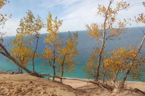 Fall Color Sleeping Bear Dunes MI