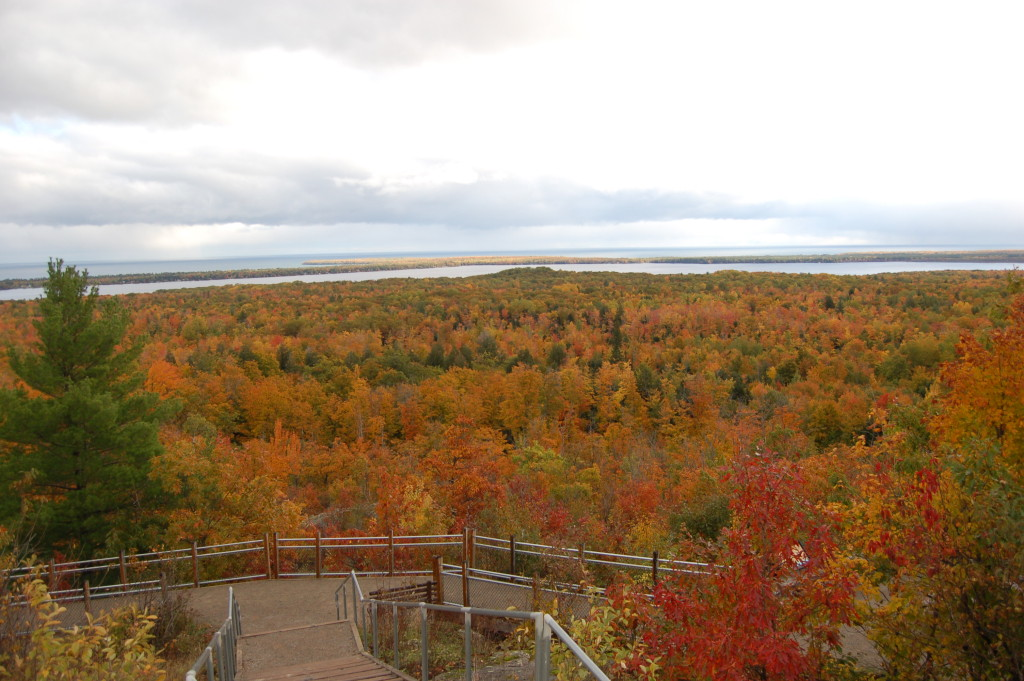 Fall Color Thomas Rock Overlook Lake Superior