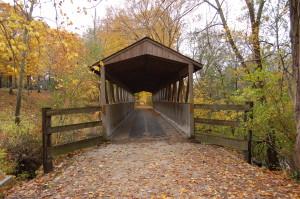 Kal Haven Trail Covered Bridge Nichols